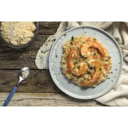 Ριζότο με γαρίδες και ντομάτα