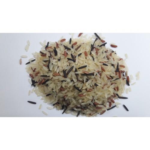 Ρύζι Τρίχρωμο( Άγριο - Κόκκινο - Mπόνετ) 1 κιλό