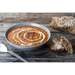 Χειμωνιάτικη ντοματόσουπα με κoυσκουσάκι